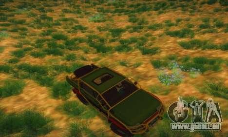 UAZ Patriot camionnette pour GTA San Andreas vue de dessus