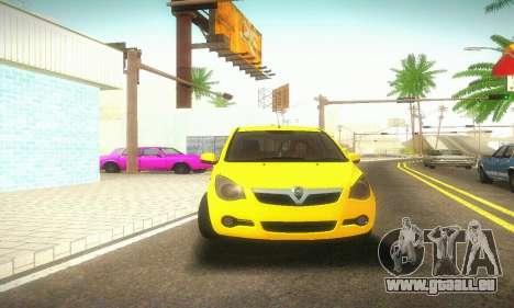 Vauxhall Agila 2011 pour GTA San Andreas