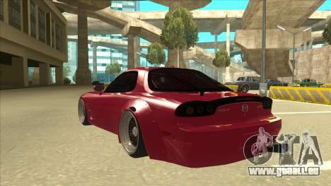 Mazda RX7 FD3S Rocket Bunny für GTA San Andreas Rückansicht