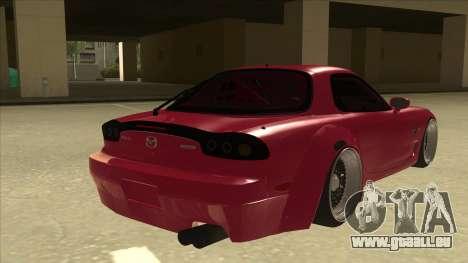 Mazda RX7 FD3S Rocket Bunny für GTA San Andreas rechten Ansicht