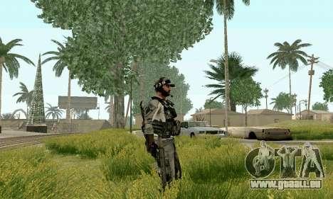 CZ 805 du champ de bataille 4 pour GTA San Andreas troisième écran