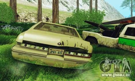 Buick Roadmaster gebrochen für GTA San Andreas rechten Ansicht