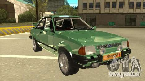 Ford Escort XR3 With Cosworth Spoiler für GTA San Andreas linke Ansicht