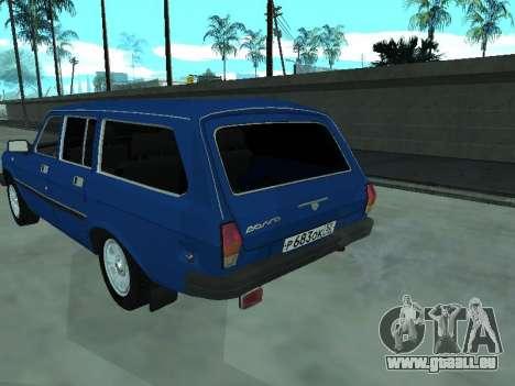 GAZ 31022 pour GTA San Andreas vue de droite