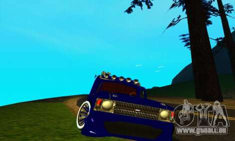 IZH 2715 Novosib Tuning pour GTA San Andreas laissé vue