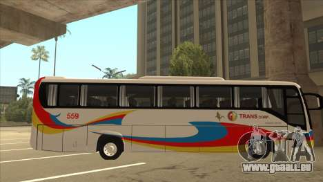 Kinglong XMQ6126Y - GL Trans 559 pour GTA San Andreas sur la vue arrière gauche