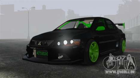 Mitsubishi Lancer Evolution VII Freestyle für GTA 4