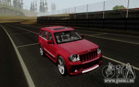 Jeep Grand Cherokee SRT10 für GTA San Andreas