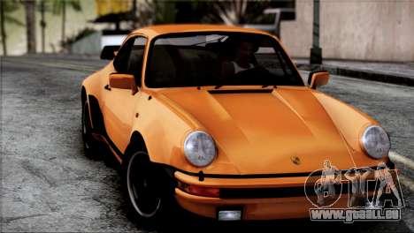 Porsche 911 Turbo 3.3 Coupe 1982 für GTA San Andreas