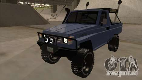 Toyota Machito Pick Up 2009 für GTA San Andreas