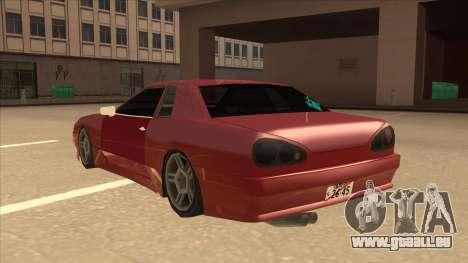 Elegy240sx Street JDM für GTA San Andreas Rückansicht