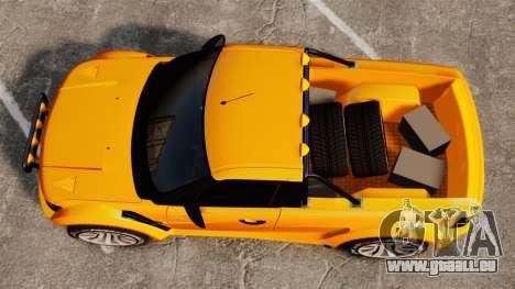 Land Rover Bowler Pick UP pour GTA 4 est un droit