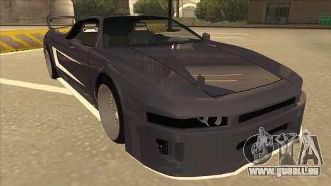 DoTeX Infernus V6 History pour GTA San Andreas laissé vue