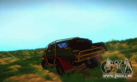 UAZ Patriot camionnette pour GTA San Andreas vue de droite