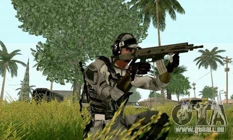 CZ 805 du champ de bataille 4 pour GTA San Andreas