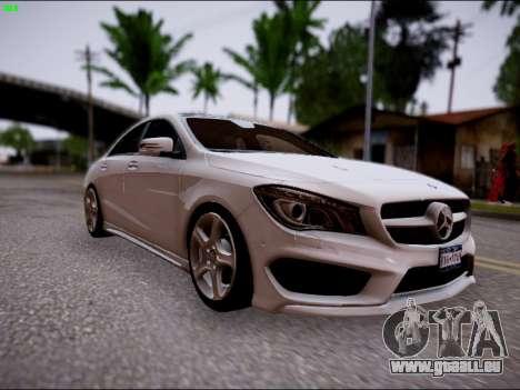 Mercedes-Benz CLA 250 für GTA San Andreas rechten Ansicht