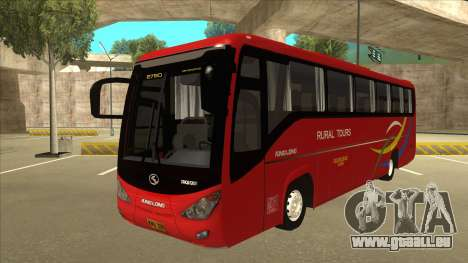 KINGLONG XMQ6126Y - Rural Tours 2780 pour GTA San Andreas