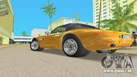BMW Z8 pour GTA Vice City roue