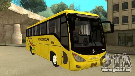Kinglong XMQ6126Y - Bachelor Tours 435 pour GTA San Andreas laissé vue