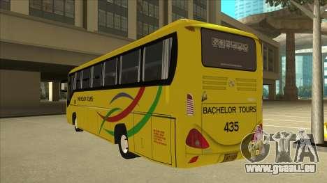 Kinglong XMQ6126Y - Bachelor Tours 435 für GTA San Andreas Rückansicht