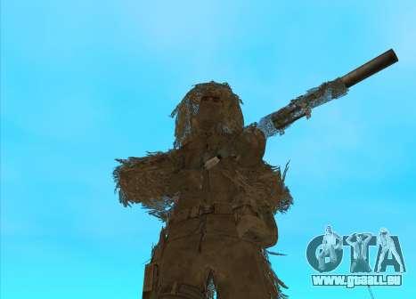 Sniper MacMillan pour GTA San Andreas deuxième écran