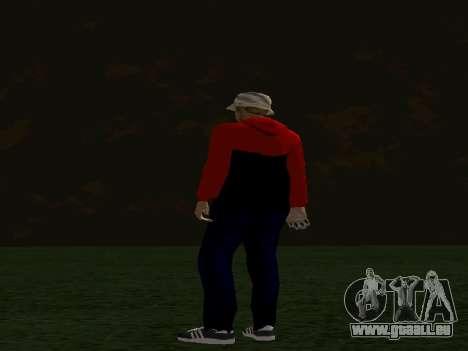 Haut von Maccer für GTA San Andreas dritten Screenshot