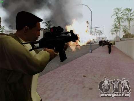 HK-G36C pour GTA San Andreas deuxième écran