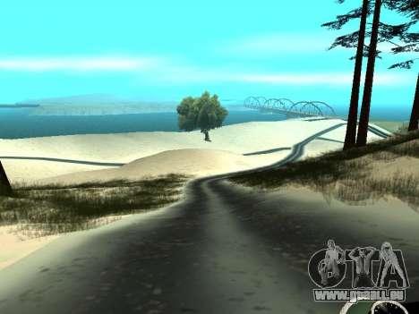 Hiver v1 pour GTA San Andreas
