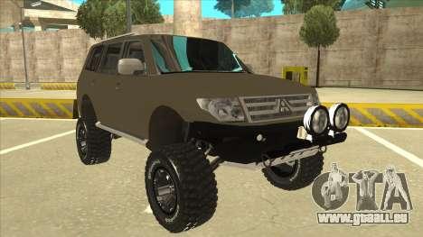 Mitsubishi Montero EDVARD [ERICK] pour GTA San Andreas laissé vue