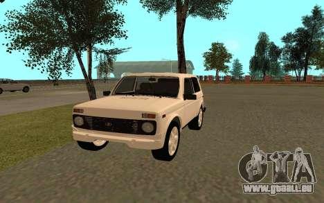 Le Niva VAZ 21213 pour GTA San Andreas