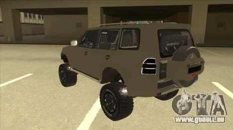 Mitsubishi Montero EDVARD [ERICK] pour GTA San Andreas vue arrière