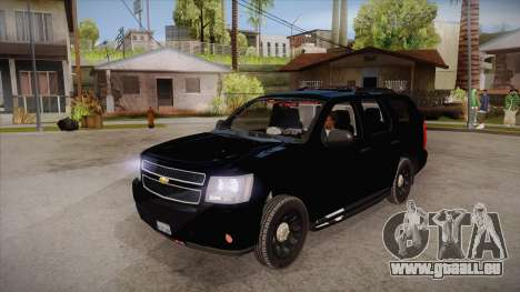 Chevrolet Tahoe LTZ 2013 Unmarked Police pour GTA San Andreas
