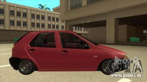 1997 Fiat Palio EDX Edit für GTA San Andreas zurück linke Ansicht