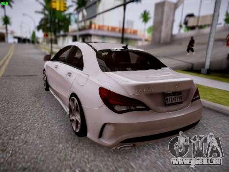 Mercedes-Benz CLA 250 pour GTA San Andreas vue de côté