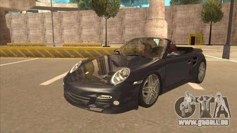 Porsche 911 Turbo Cabriolet 2008 für GTA San Andreas