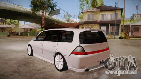Honda Odyssey v1.5 für GTA San Andreas zurück linke Ansicht