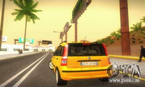 Fiat Panda Taxi für GTA San Andreas rechten Ansicht