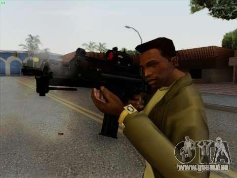 HK-G36C pour GTA San Andreas troisième écran