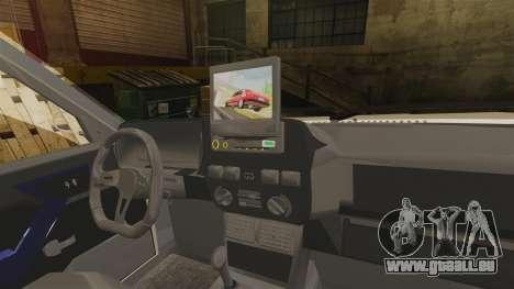 Tofas Dogan SLX pour GTA 4 est une vue de l'intérieur