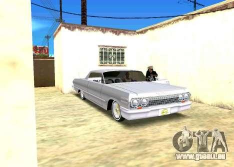Échange et César pour GTA San Andreas troisième écran
