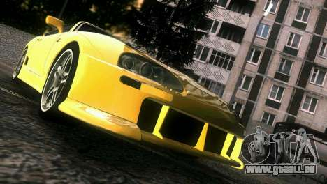 Toyota Supra TRD für GTA Vice City obere Ansicht