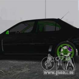 Mitsubishi Lancer Evolution VII Freestyle pour GTA 4 est une gauche