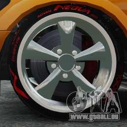 Sultan RS v2.5 pour GTA 4 Vue arrière