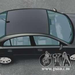 Kia Rio 2009 für GTA 4 rechte Ansicht