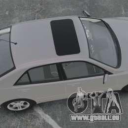 Lexus IS300 pour GTA 4 est un droit