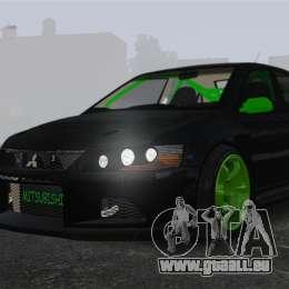 Mitsubishi Lancer Evolution VII Freestyle pour GTA 4