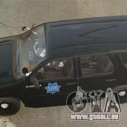 Chevrolet Tahoe 2010 PPV SFPD v1.4 [ELS] pour GTA 4 est un droit