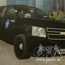 Chevrolet Tahoe 2010 PPV SFPD v1.4 [ELS] pour GTA 4