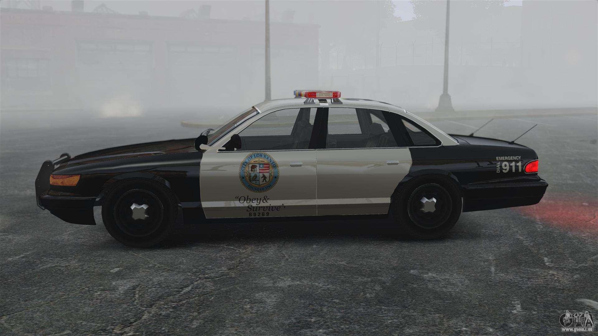 une voiture de police gta v pour gta 4