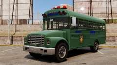 Le bus de la prison, New York City